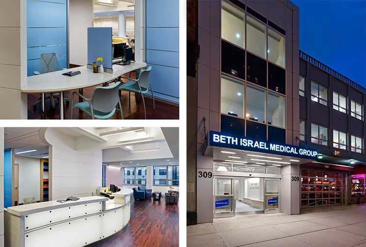 Beth Israel Medical Group Physician Offices Array Architects