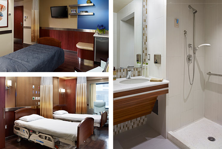 Patient Rooms At Mt Sinai New York