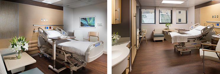 Array Architects UH MacDonald Women's Patient Rooms