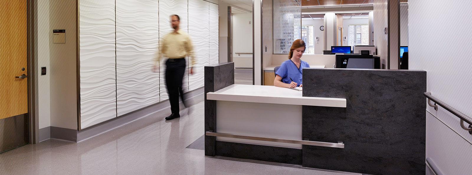 New York Presbyterian Hospital Lobby
