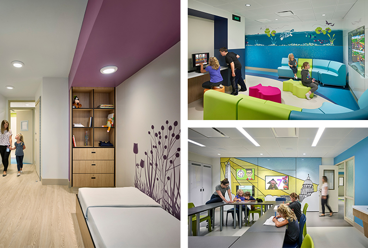 Treatment Rooms For Pediatric Hospital Studies