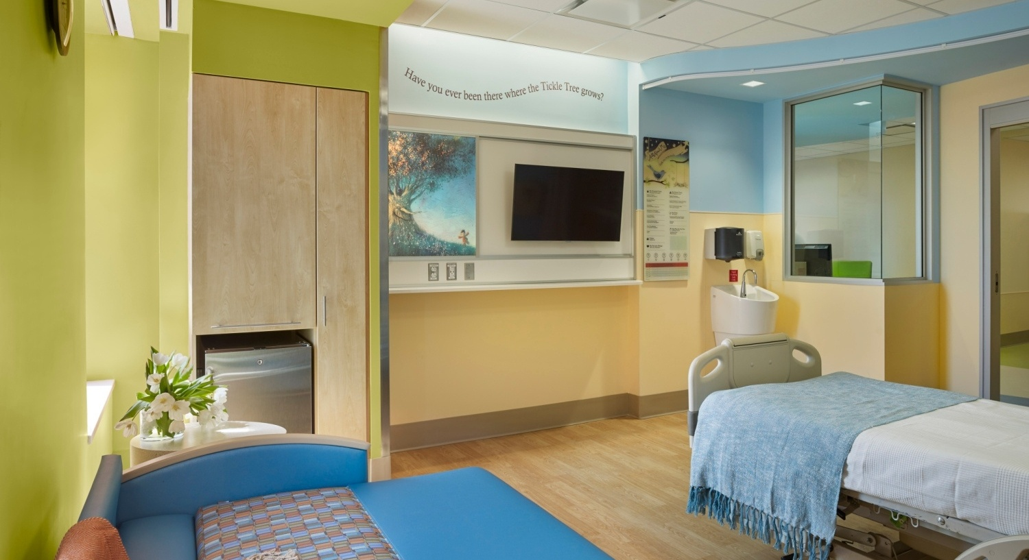 Pediatric Inpatient Units Of The Future Must Not Only Respond To Known Documented Evidence Based Design Attributes But Planning Considerations And