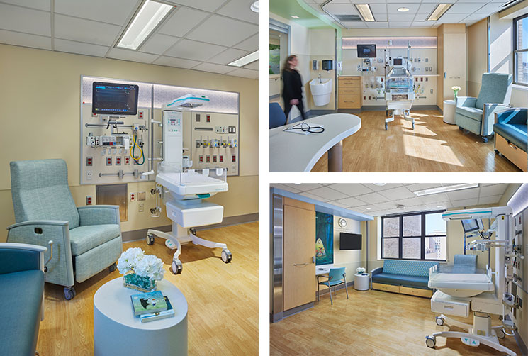 Morgan Stanley Children S Hospital Cardiac Neonatal Intensive Care Unit Array Architects