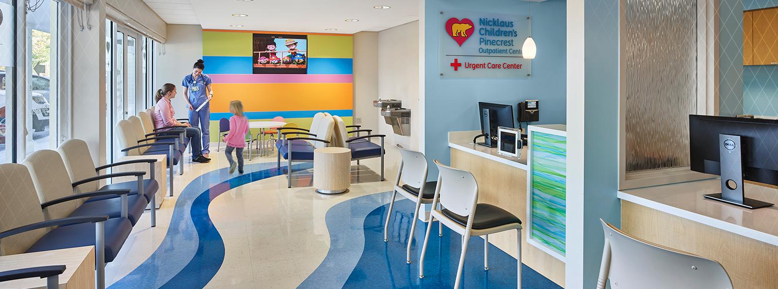 Pediatric Ambulatory Urgent Care Center Array Architects